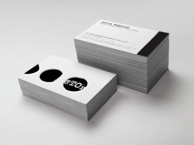 Business card design by Charger Graphics of Cheshire